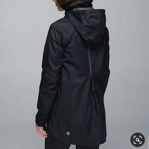 Lululemon Hardshell Rain Supreme Jacket Camo Black